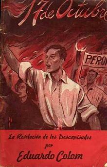 Tapa del libro 17 de octubre - Eduardo Colom -