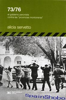 Tapa del libro 73/76 - Alicia Servetto -