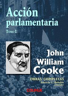 Tapa del libro Acción Parlamentaria - Eduardo Luis Duhalde (compilador) -