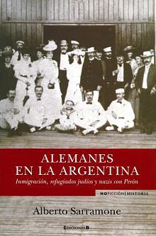 Tapa del libro Alemanes en la Argentina - Alberto Sarramone -