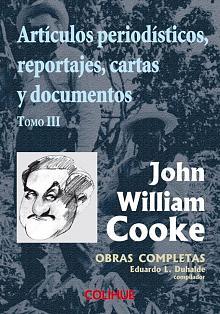 Tapa del libro Artículos periodísticos, reportajes, cartas y documentos - Eduardo Luis Duhalde (compilador) -