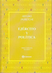 Tapa del libro Ejército y política - Arturo Jauretche -