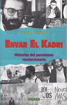 Tapa del libro Envar el Kadri - Facundo Cersosimo -