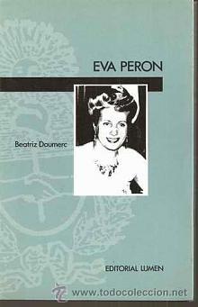 Tapa del libro Eva Perón - Beatriz Doumerc -