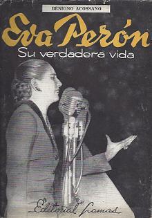 Tapa del libro Eva Perón - Benigno Acossano -