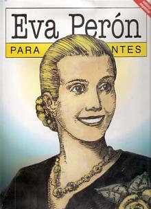 Tapa del libro Eva Perón para principiantes - Nerio Tello -