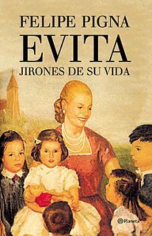 Tapa del libro Evita - Felipe Pigna -