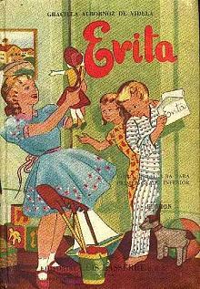 Tapa del libro Evita - Graciela Albornoz de Videla -