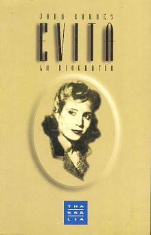 Tapa del libro Evita - John Barnes -