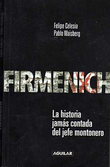 Tapa del libro Firmenich - Felipe Celesia y Pablo Waisberg -