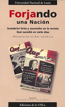 Tapa del libro Forjando una Nación - Ana Jaramillo -