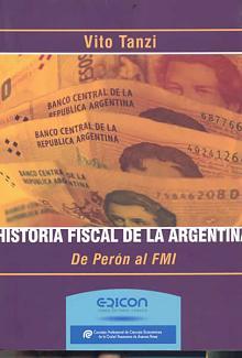 Tapa del libro Historia fiscal de la Argentina - Vito Tanzi -