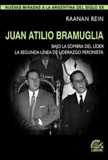 Tapa del libro Juan Atilio Bramuglia - Raanan Rein -