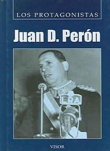 Tapa del libro Juan D. Perón - Sergio Marabini -