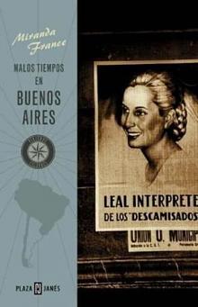 Tapa del libro Malos tiempos en Buenos Aires - France Miranda -