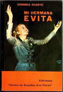 Tapa del libro Mi hermana Evita - Erminda Duarte -