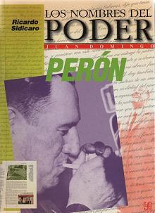 Tapa del libro Los nombres del poder - Ricardo Sidicaro -
