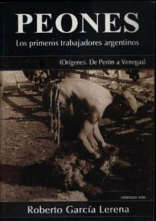 Tapa del libro Peones - Roberto García Lerena -