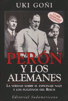 Tapa del libro Perón y los alemanes - Uki Goñi -