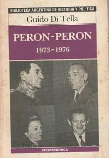 Tapa del libro Perón-Perón  - Guido Di Tella -