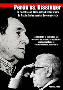 Tapa del libro Perón vs. Kissinger - Paulo Ares -