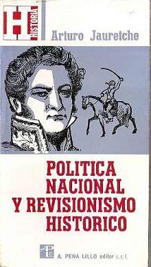 Tapa del libro Política Nacional y Revisionismo histórico - Arturo Jauretche -