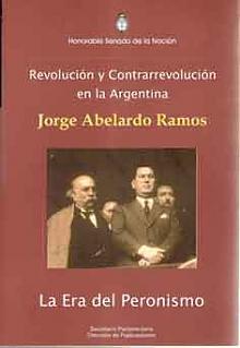 Tapa del libro Revolución y contrarevolución en la Argentina - Jorge Abelardo Ramos -