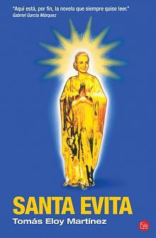 Tapa del libro Santa Evita - Tomás Eloy Martínez -