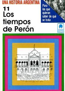 Tapa del libro Los tiempos de Perón - Lilia Ana Bertoni -