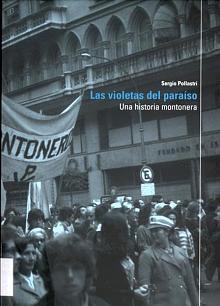 Tapa del libro Las violetas del paraíso - Sergio Pollastri -