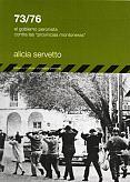 Tapa del libro 73/76 - Alicia Servetto -