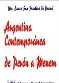 Tapa del libro argentina contemporánea - María Laura San Martino de Dromi -