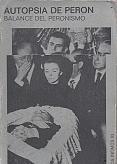 Tapa del libro Autopsia de Perón - Louis Mercier Vega -