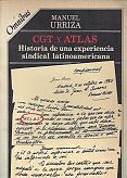 Tapa del libro cgt y atlas - Manuel Urriza -