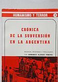 Tapa del libro crónica de la subversión en la argentina - Armando Alonso Piñeiro -