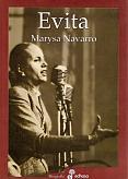 Tapa del libro Evita - Marysa Navarro -