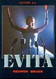Tapa del libro Evita - George Bruce -