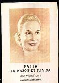 Tapa del libro Evita - José Miguel Vanni -