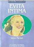 Tapa del libro Evita íntima - Vera Pichel -
