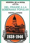 Tapa del libro Del fraude a la soberanía popular - Roberto Ferrero -