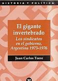 Tapa del libro El gigante invertebrado - Juan Carlos Torre -
