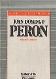 Tapa del libro Juan Domingo Perón - Nelson Martínez -