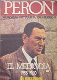 Tapa del libro memorial de puerta de hierro - Enrique Pavón Pereyra -