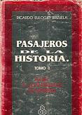 Tapa del libro pasajeros de la historia - Ricardo Eulogio Brizuela -