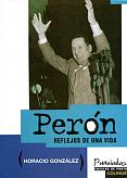 Tapa del libro Perón - Horacio González -
