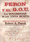 Tapa del libro Perón y el GOU - Robert Potash -