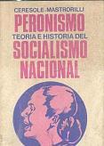Tapa del libro peronismo - Norberto Ceresole y Carlos Mastrorilli -