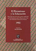 Tapa del libro El Peronismo y la educación: 1950 - Ana Jaramillo -