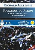 Tapa del libro Soldados de Perón - Richard Guillespie -