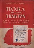 Tapa del libro Técnica de una traición - Silvano Santander -